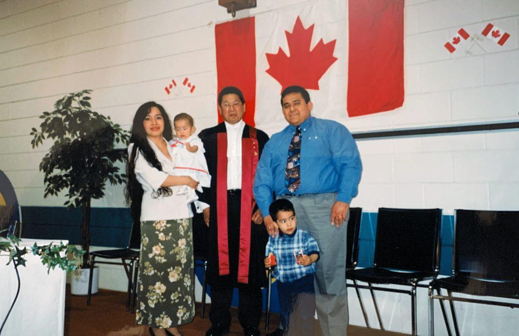 Oscar and Karen Rodriguez get their Canadian citizenship. \OSCAR RODRIGUEZ