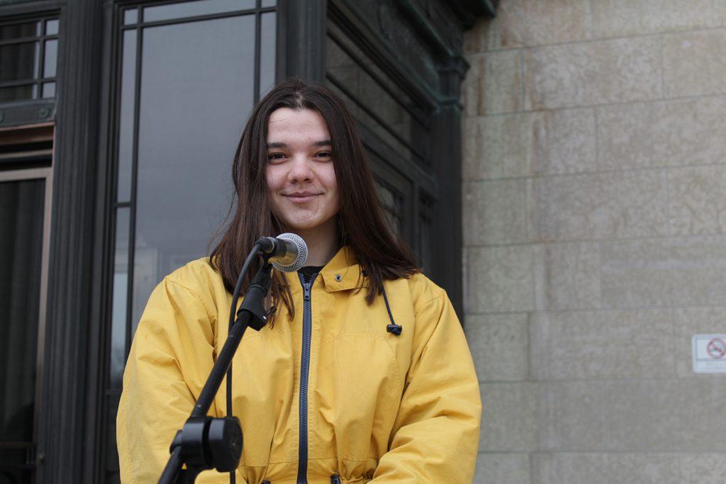 Lena Andres, Winnipeg climate activist