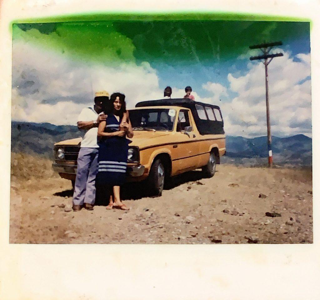 An image of Oscar Sr and Alicia Rodriguez, before Oscar left Guatemala. \OSCAR RODRIGUEZ