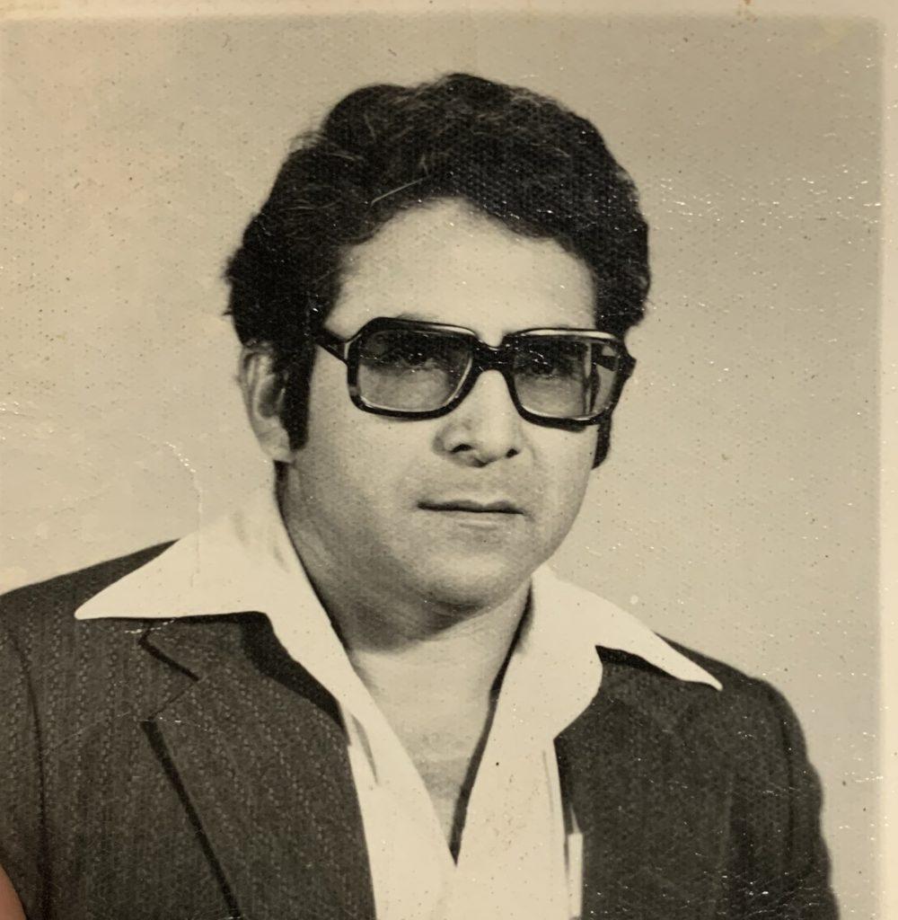Oscar Rodriguez Sr. in 1969. \OSCAR RODRIGUEZ