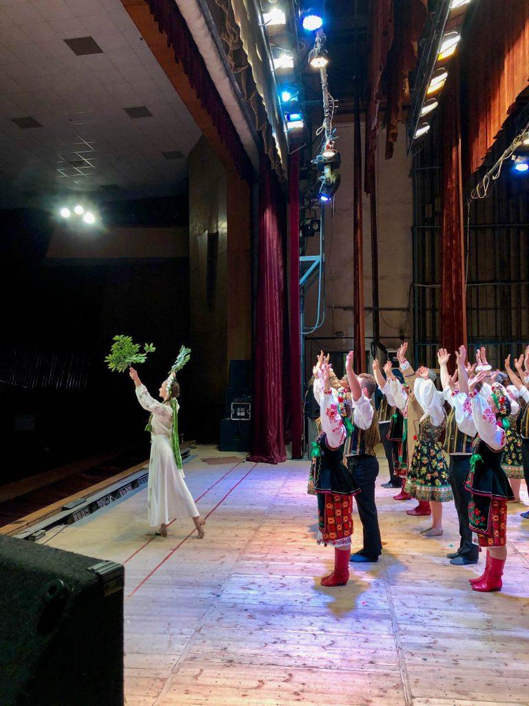 Rusalka performing in Truskavets in 2019