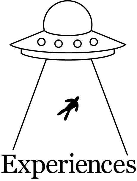 A simple drawing of an abduction.